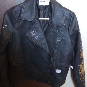 kid's leather jacket